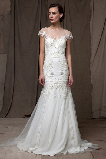 Lela Rose Fw14 Dress 8 Martha Stewart Weddings