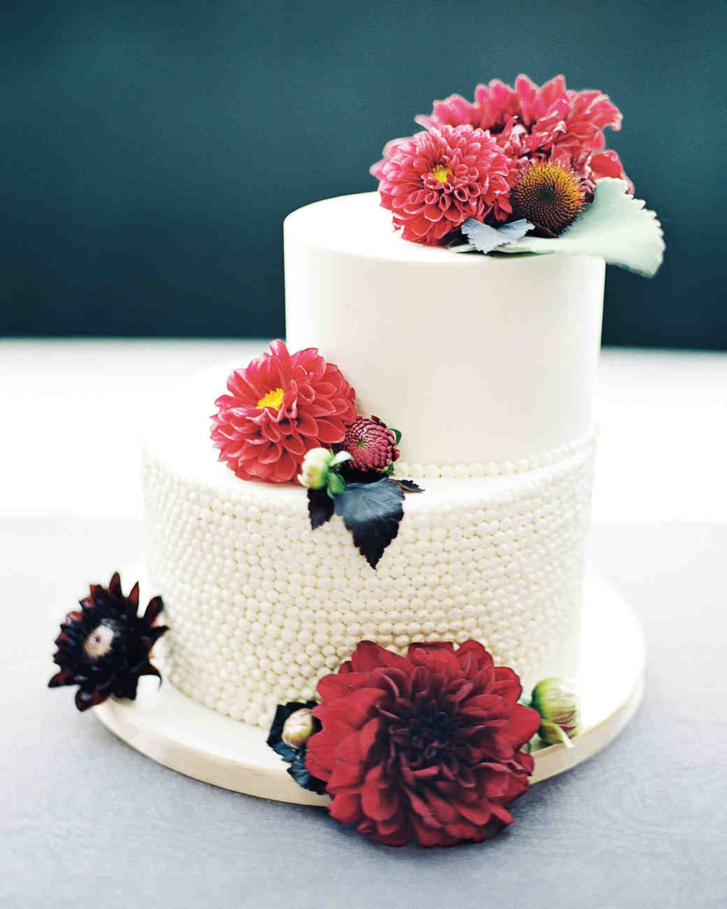 Wedding Cakes With Flowers On Top: 62 Fresh Floral Wedding Cakes