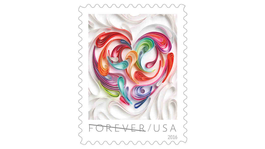 Send Your Wedding Invites With the New Love Stamp!