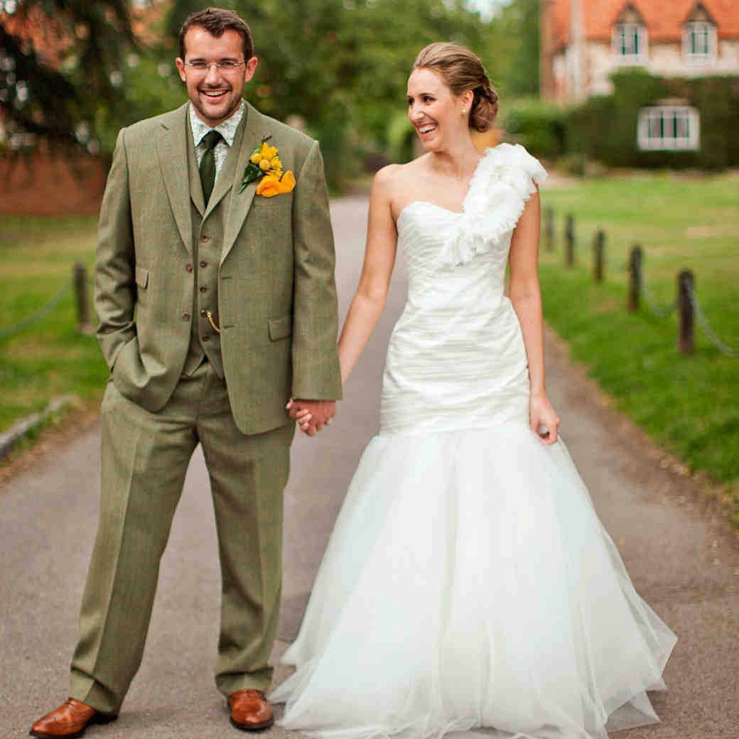 A Whimsical Vintage Barn Destination Wedding in England