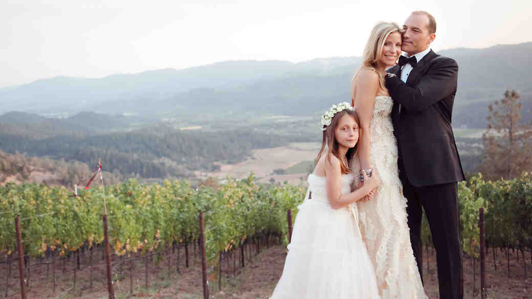 A California Destination Wedding with a Rustic Touch