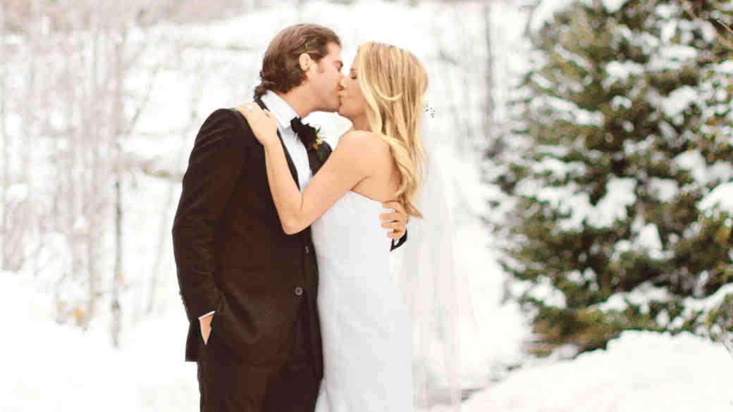 Whitney and Jordan's Winter Wedding in Utah