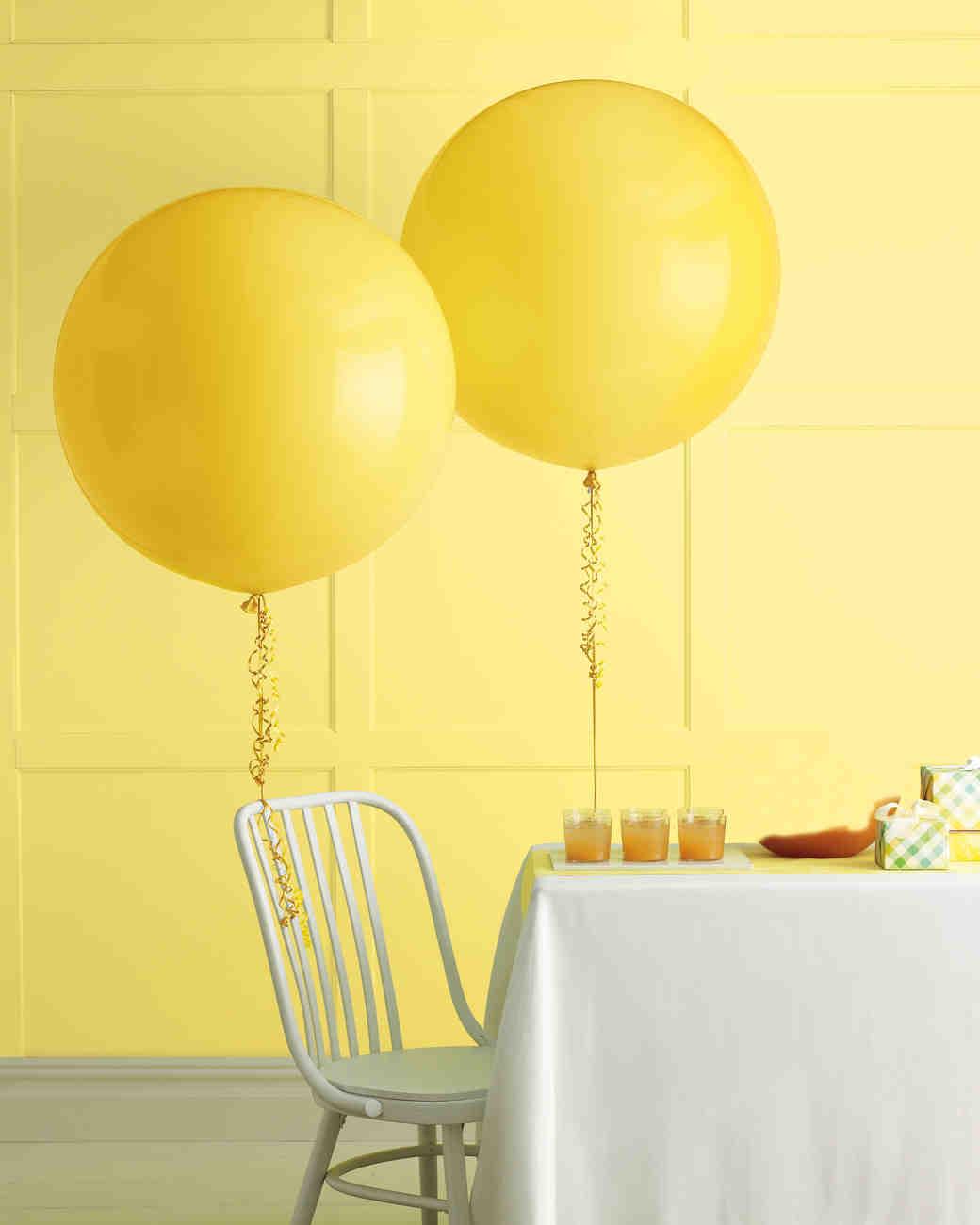 Diy Balloon Wedding Decor Martha Stewart Weddings