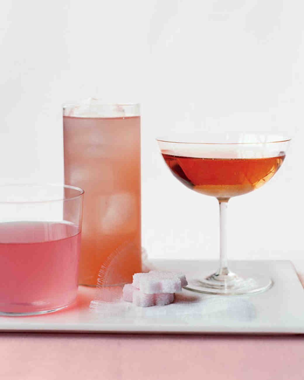 Rosé Champagne Cocktail