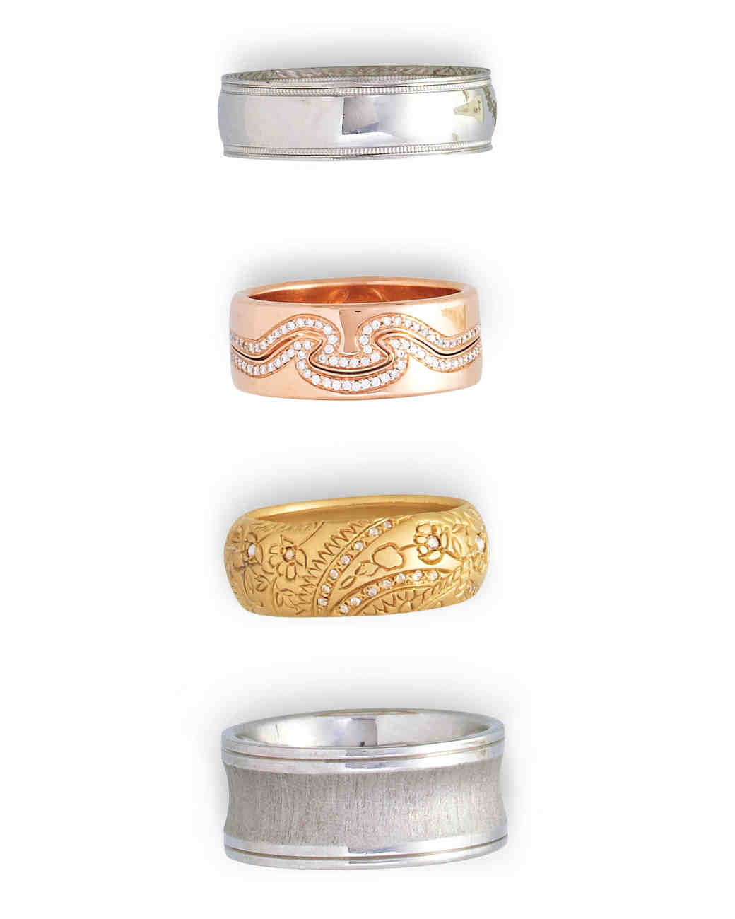 choose your wedding band width thick wedding bands Common Wedding Band Sizes Thick
