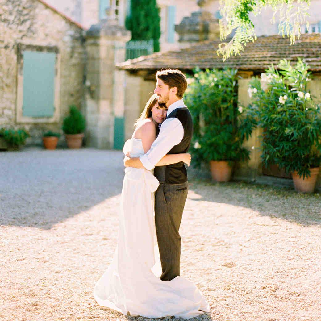 A Pastel Vintage Destination Wedding in France
