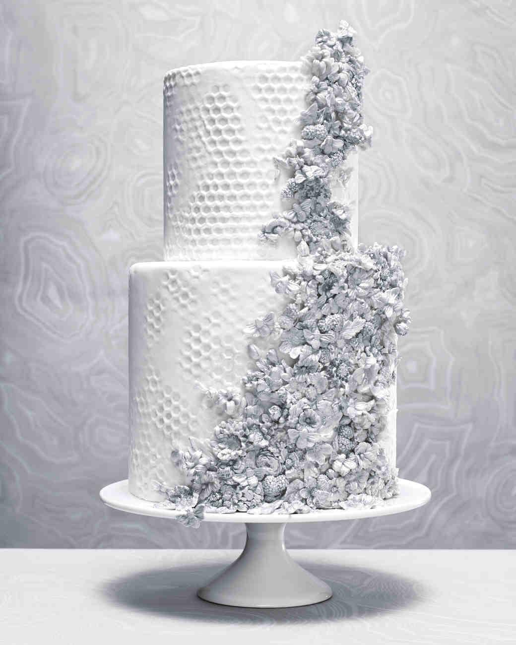 Design Your Own Wedding Cake: 8 Platinum Wedding Cakes Ideas