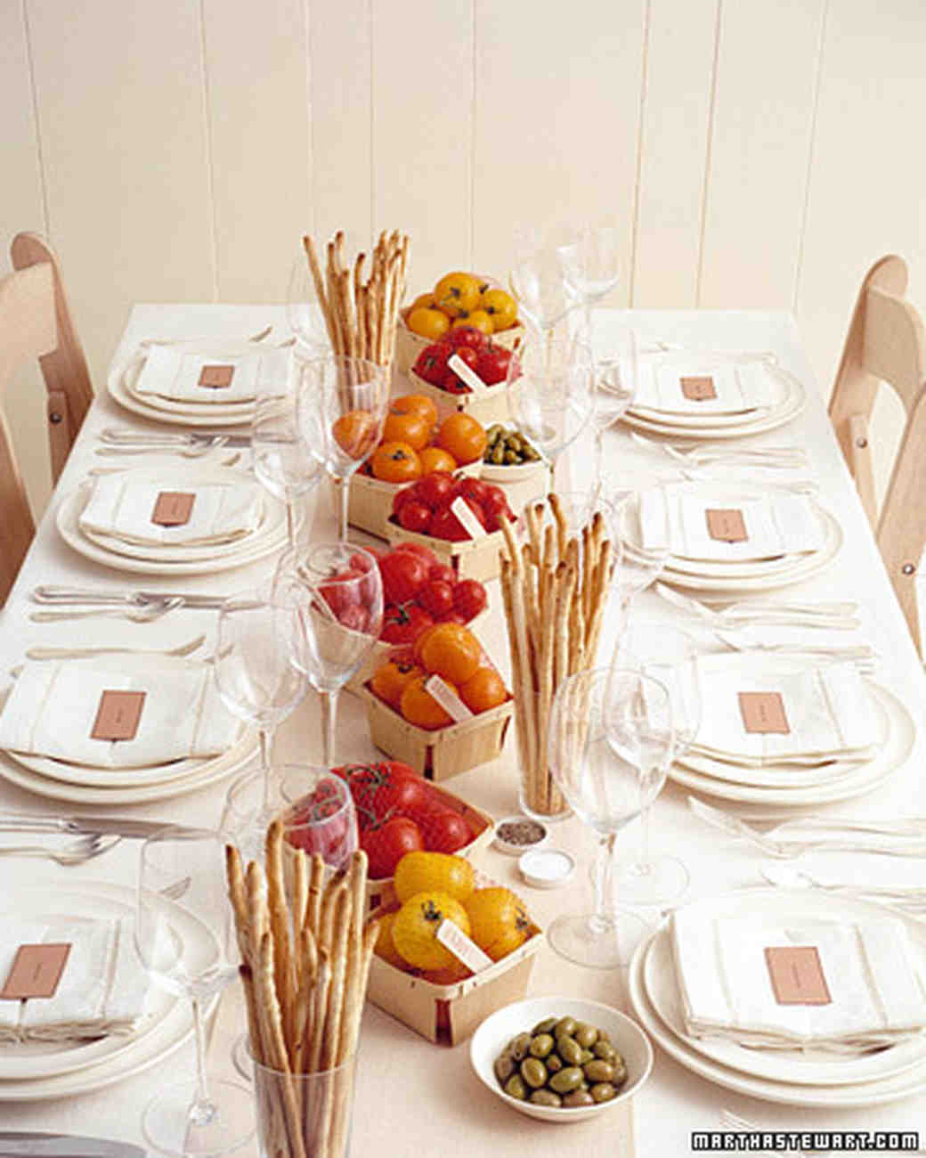 Italian Themed Wedding Ideas: Cooking-Themed Bridal Shower