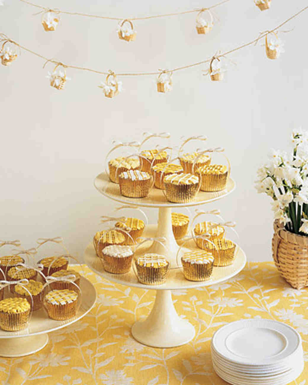 Wedding cupcake ideas martha stewart weddings - Wedding bridal shower ...
