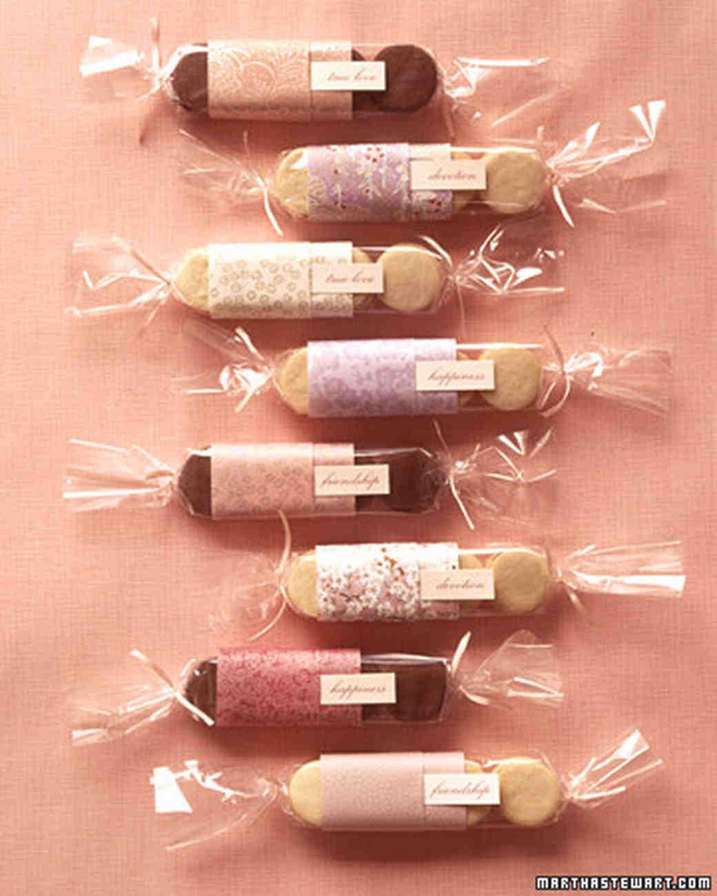Martha Stewart Wedding Gifts: The Best Cookie Wedding Favors