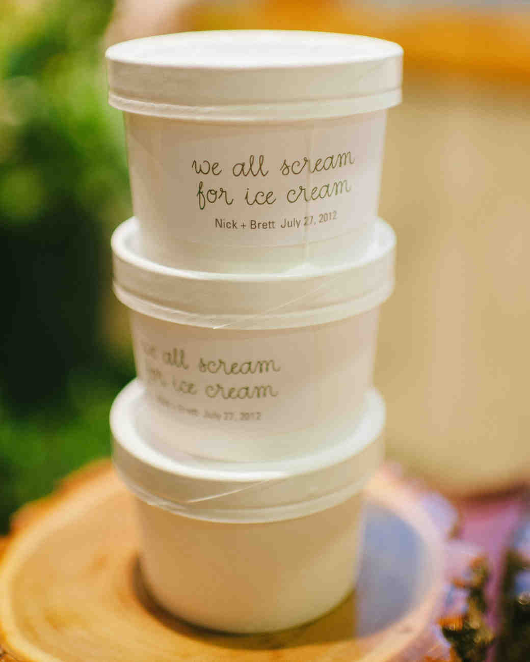 To-Go Ice Cream Containers