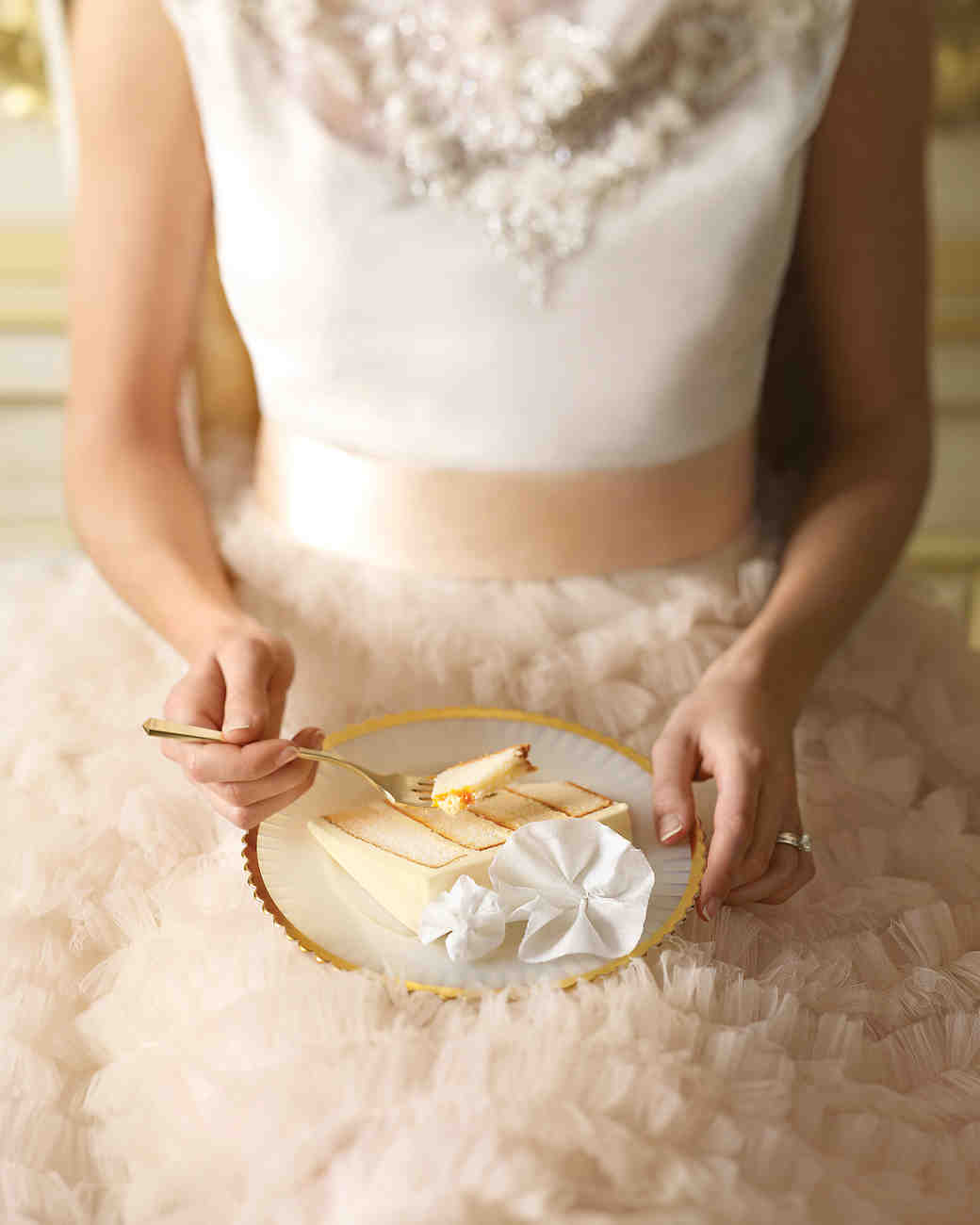 Vanilla And Apricot Wedding Cake Recipe