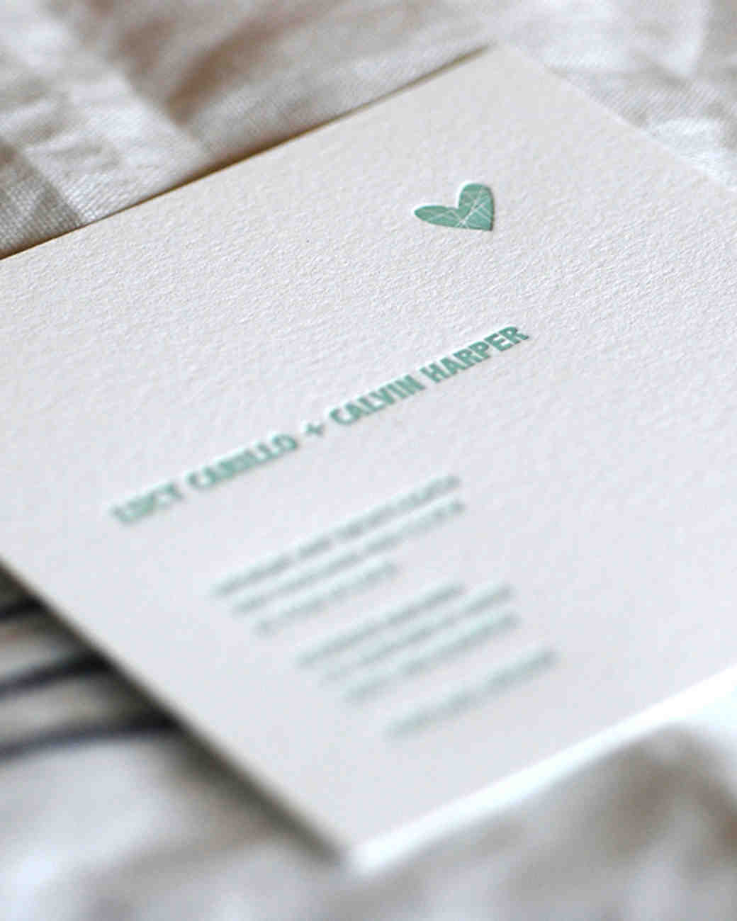 Delightful 8 Details To Include When Wording Your Wedding Invitation | Martha Stewart  Weddings