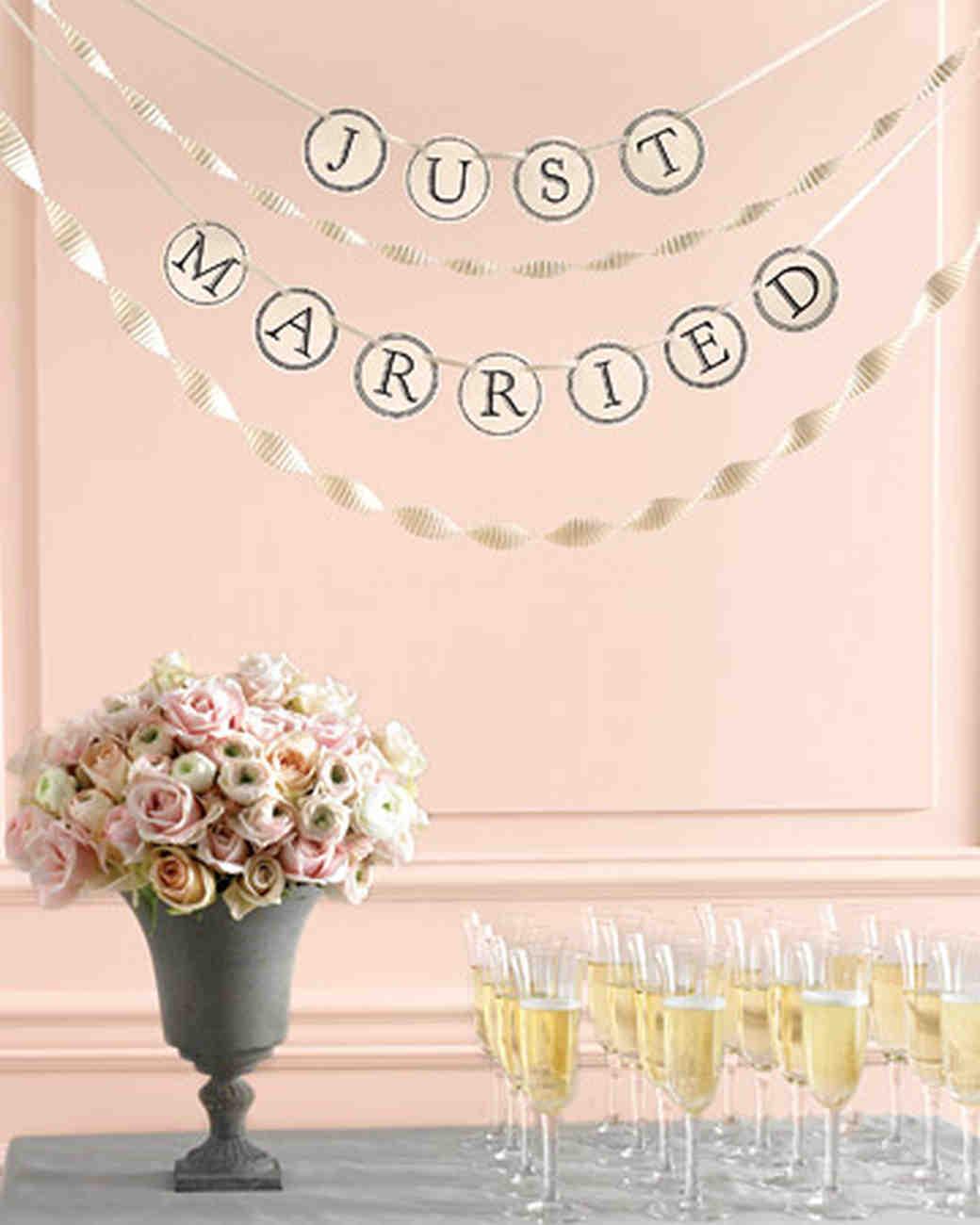 Martha Stewart Weddings: Templates For Wedding Decorations