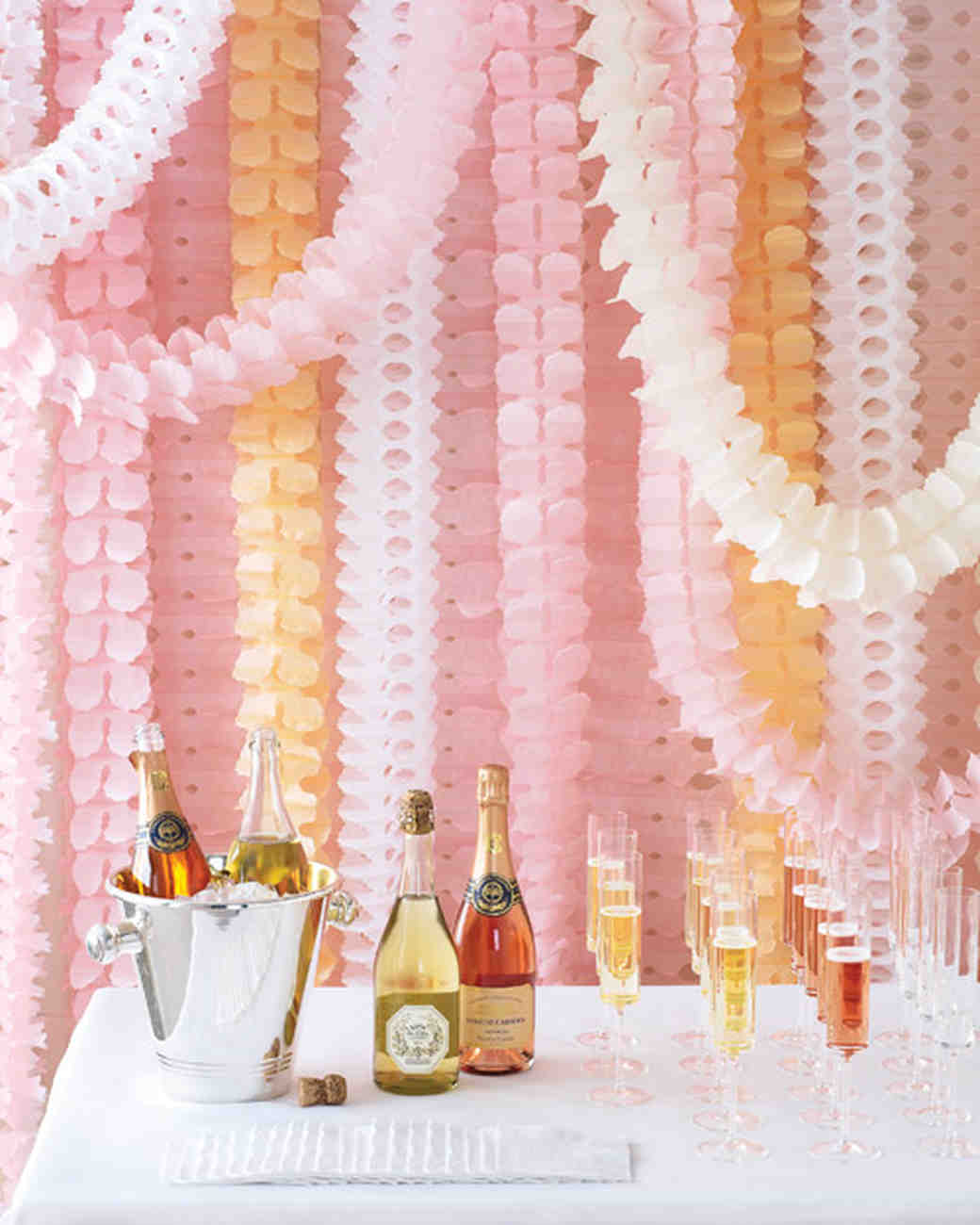 EasytoMake Paper Decorations For Your Wedding Martha Stewart