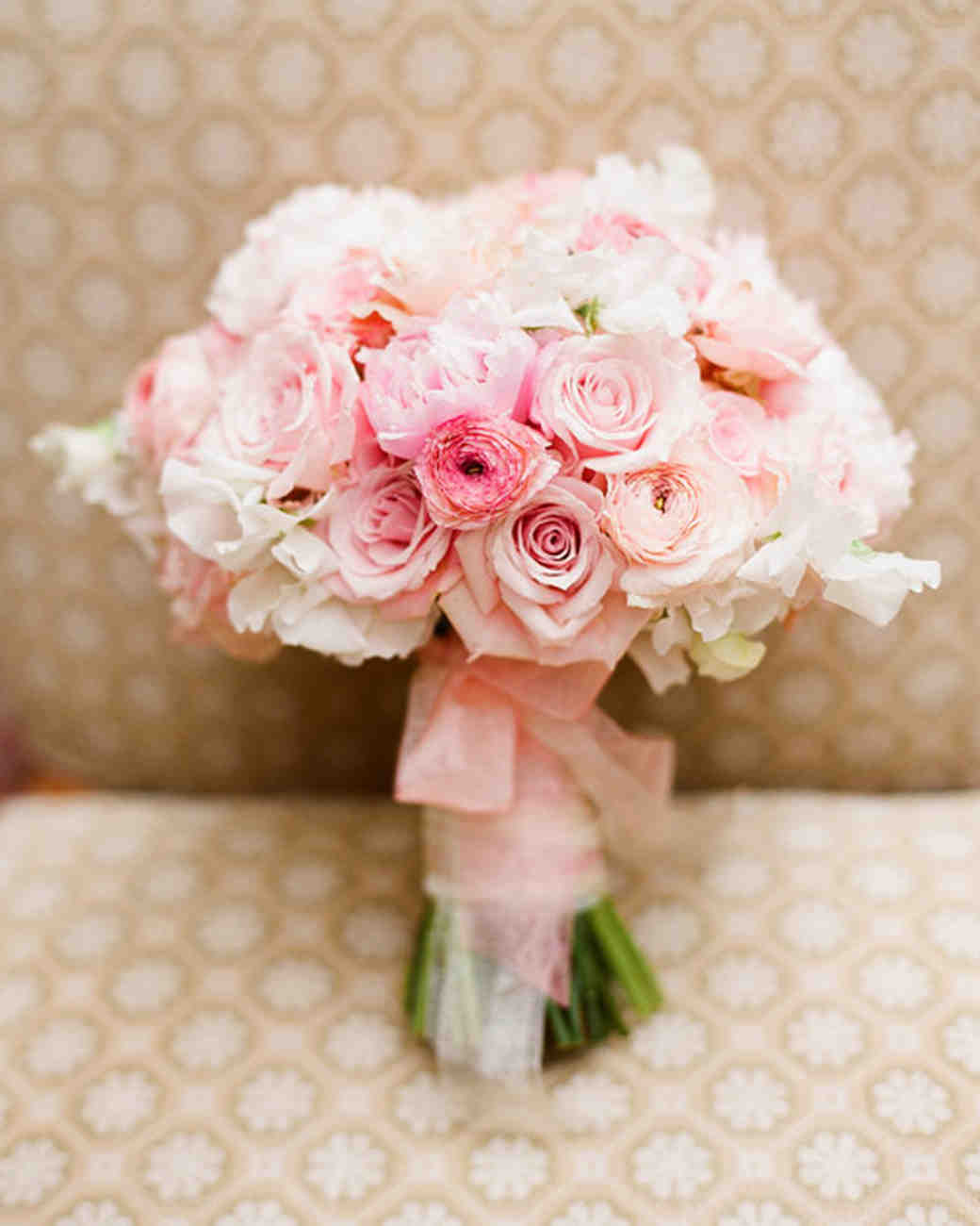 Rosy Wedding Bouquet