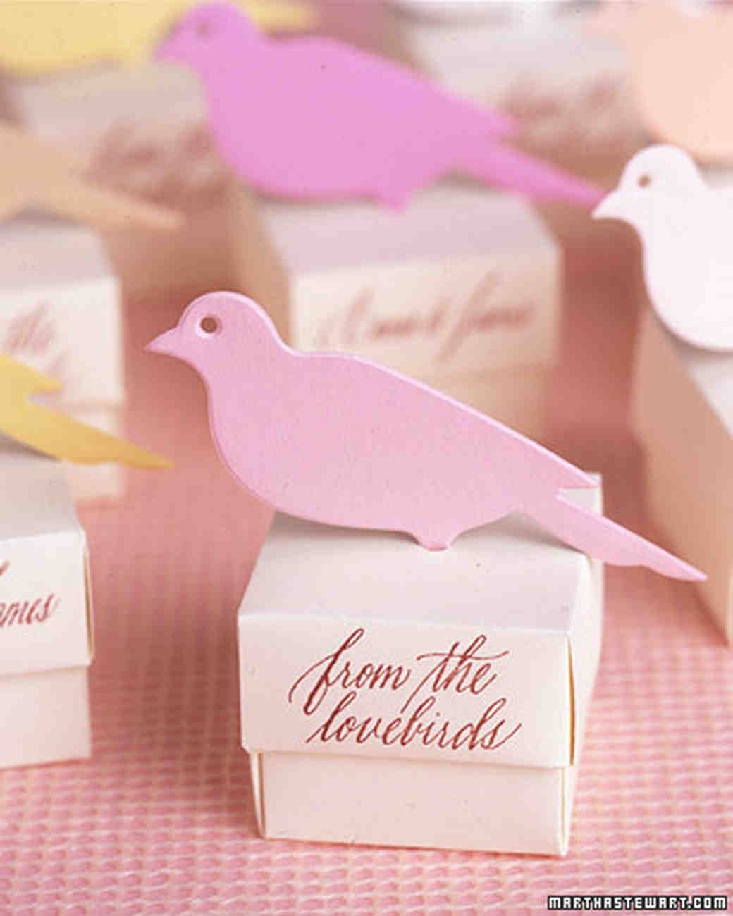 Spring Favors: How to Make the Bird Boxes