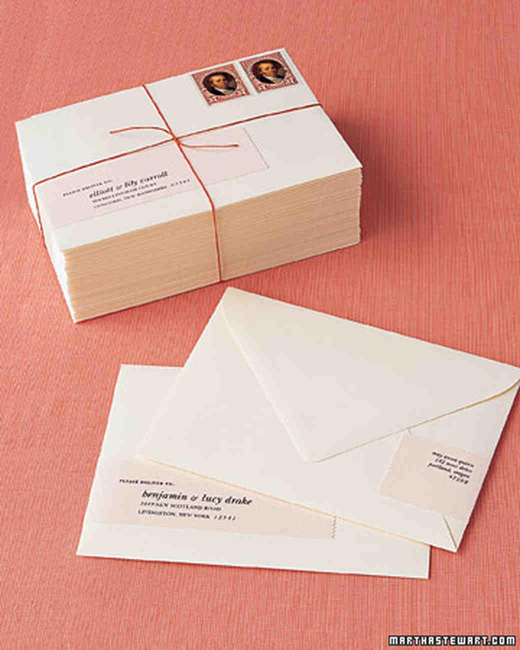Easy Ways To Upgrade Your Wedding Invitations | Martha Stewart Weddings