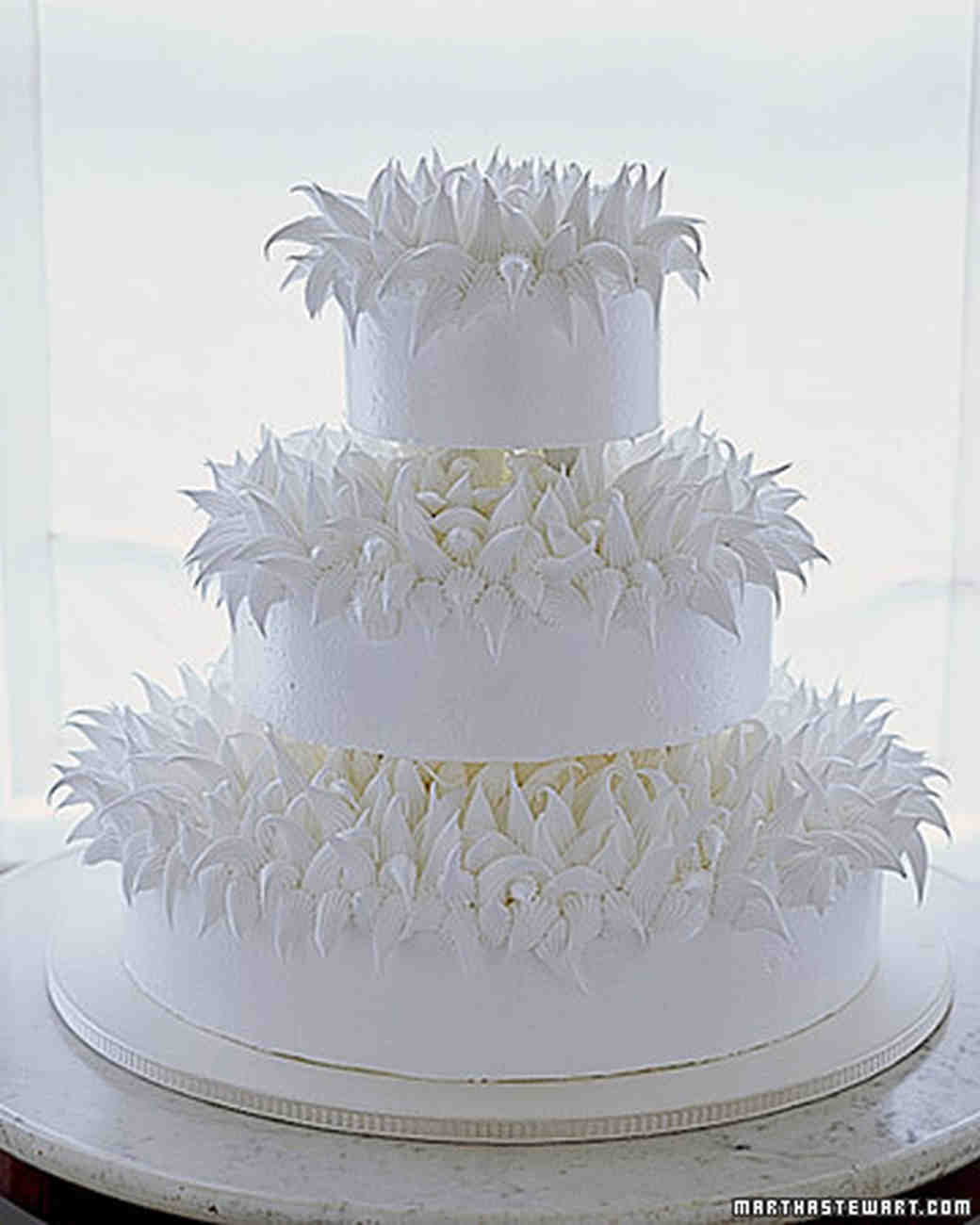 Meringue Cakes Chrysanthemum Cake