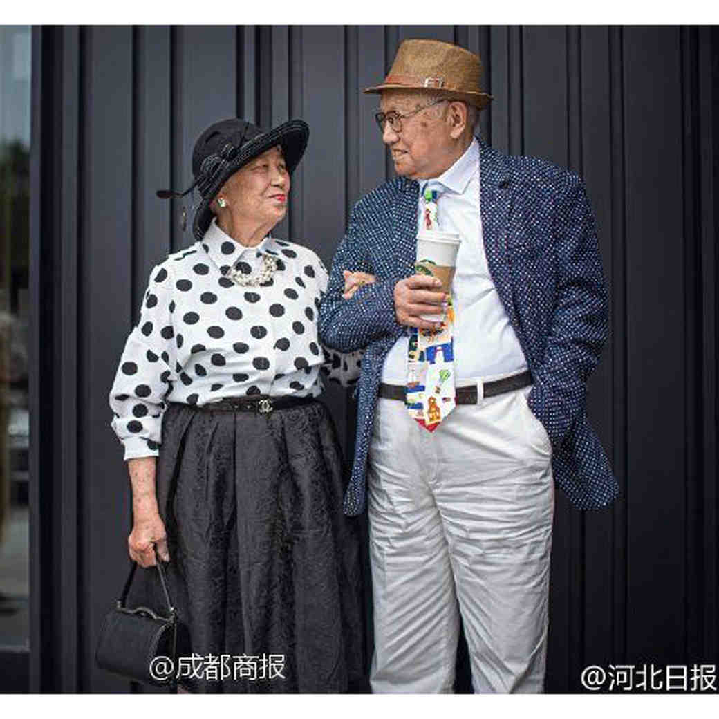 This Couple at Their 64th Anniversary Shoot Is More Stylish Than All of Us