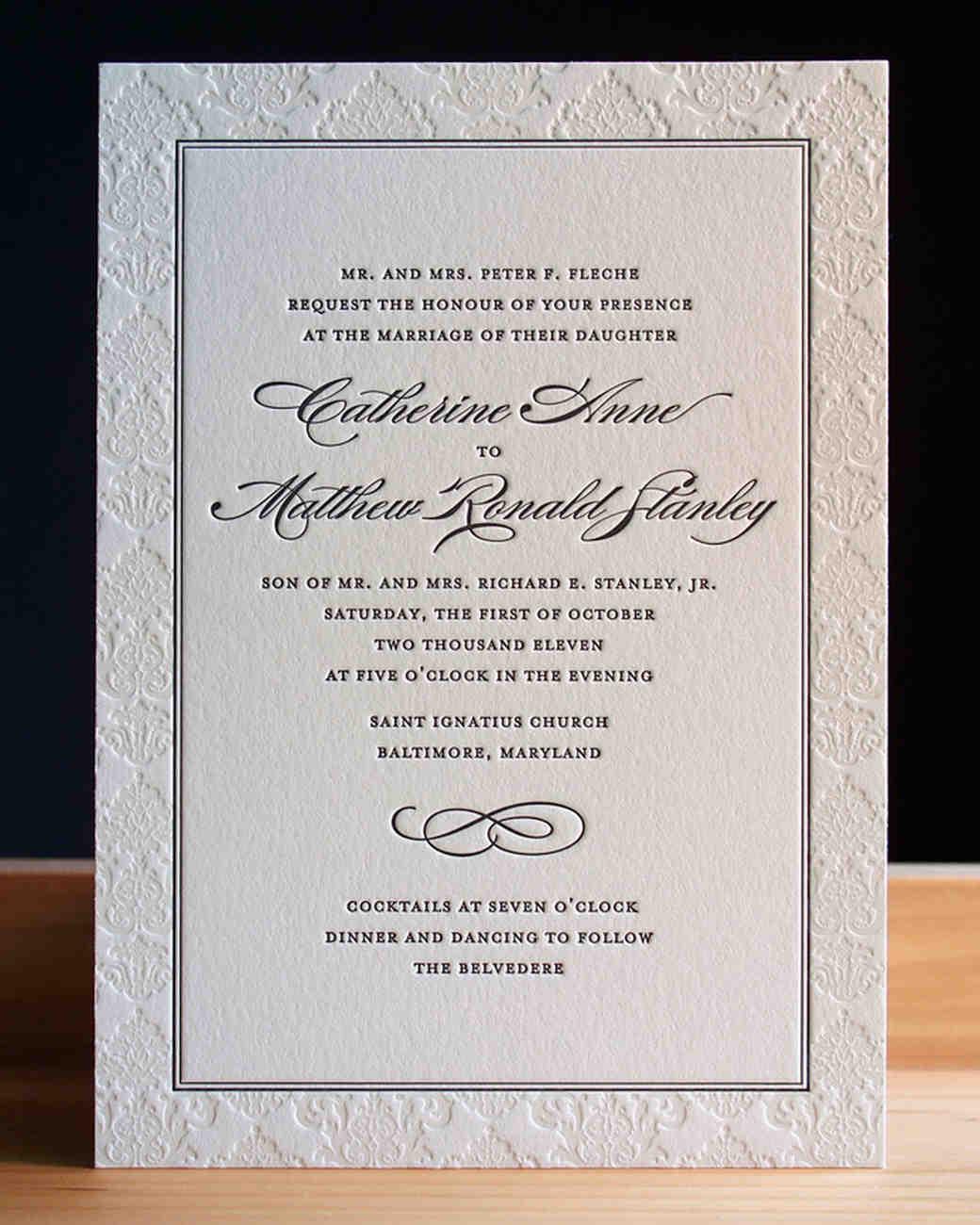 Beautiful Invitations For A Wedding Photos - Invitations Design ...