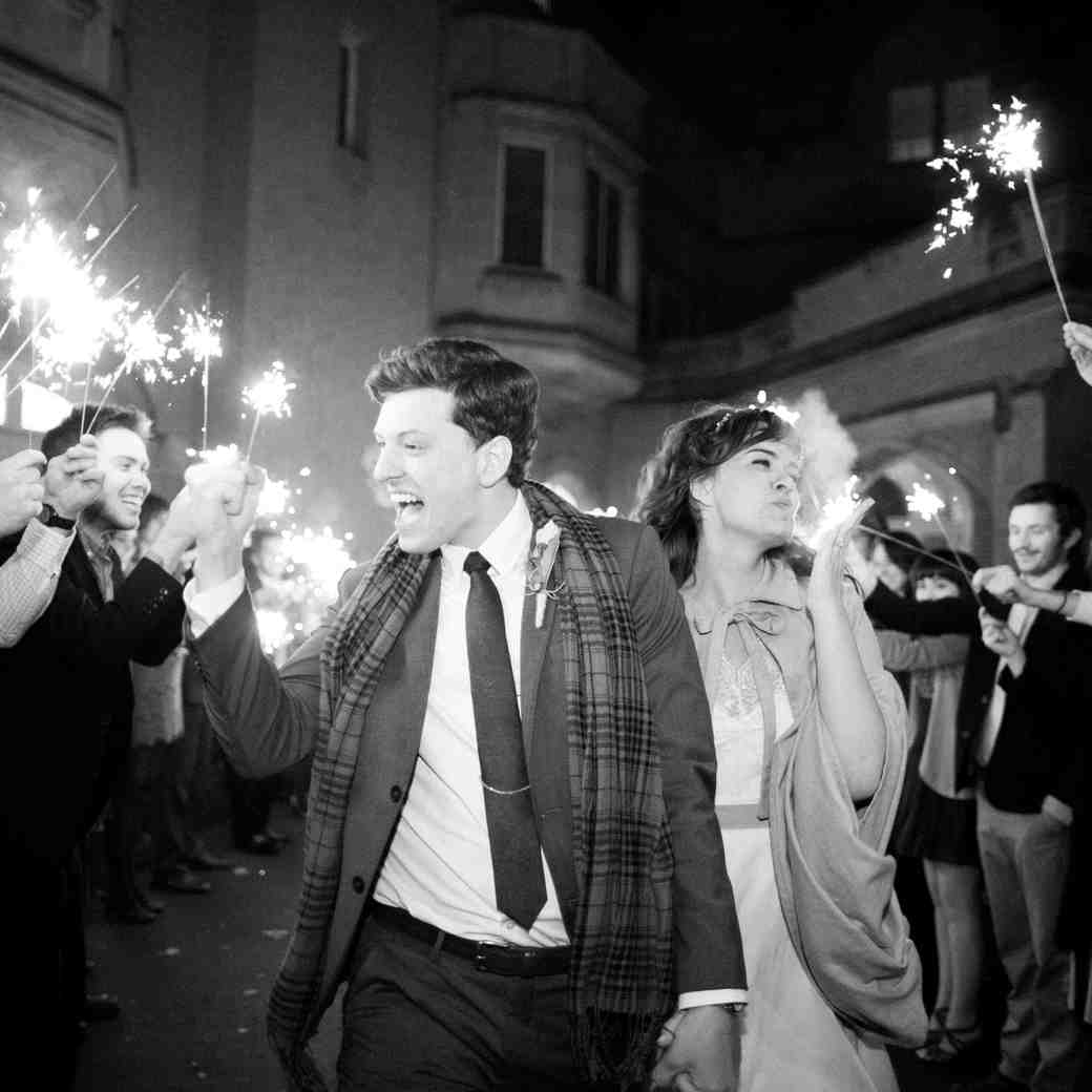 7 New Year's Traditions to Incorporate Into Your Wedding Day