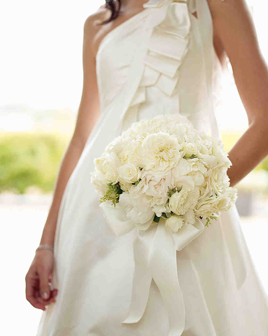 Timeless White Wedding Bouquet