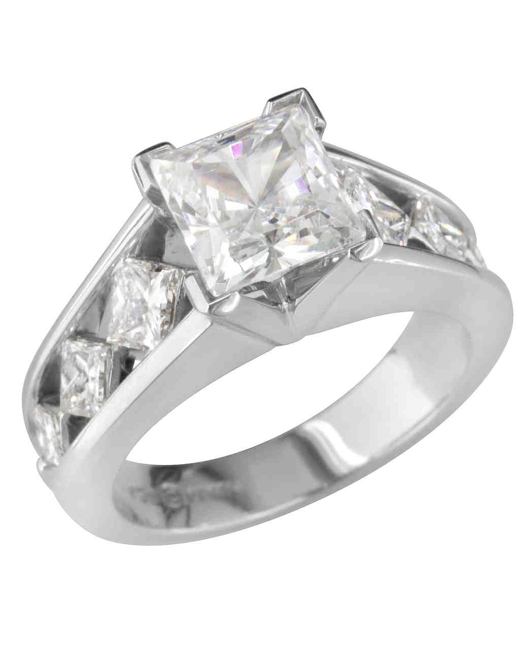 Peter Storm Princess-Cut Engagement Ring
