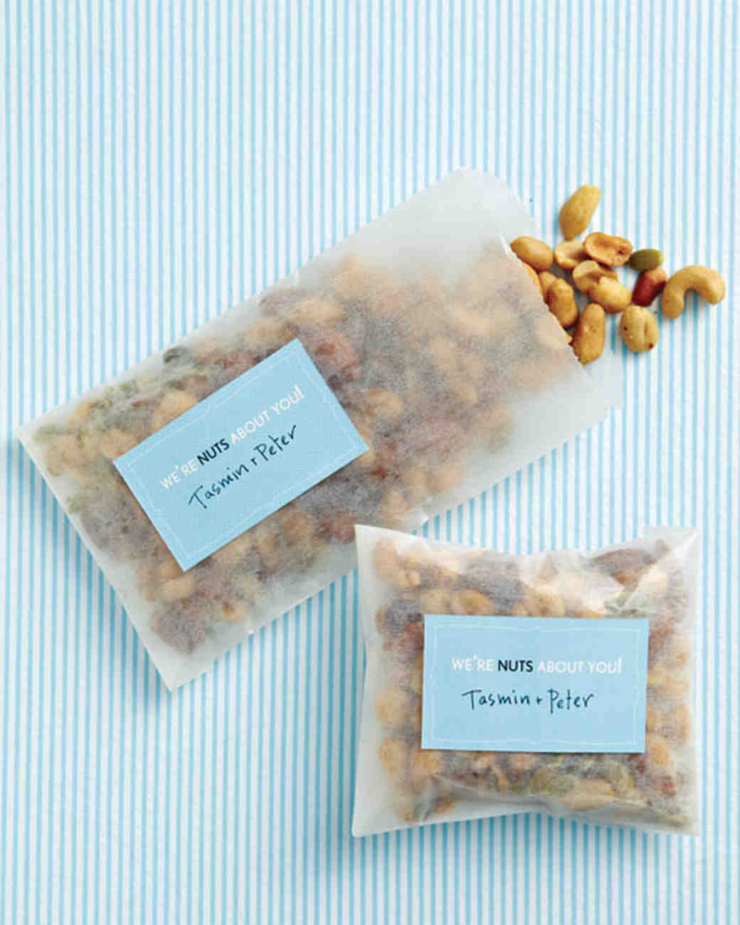 Mixed Nut Favors