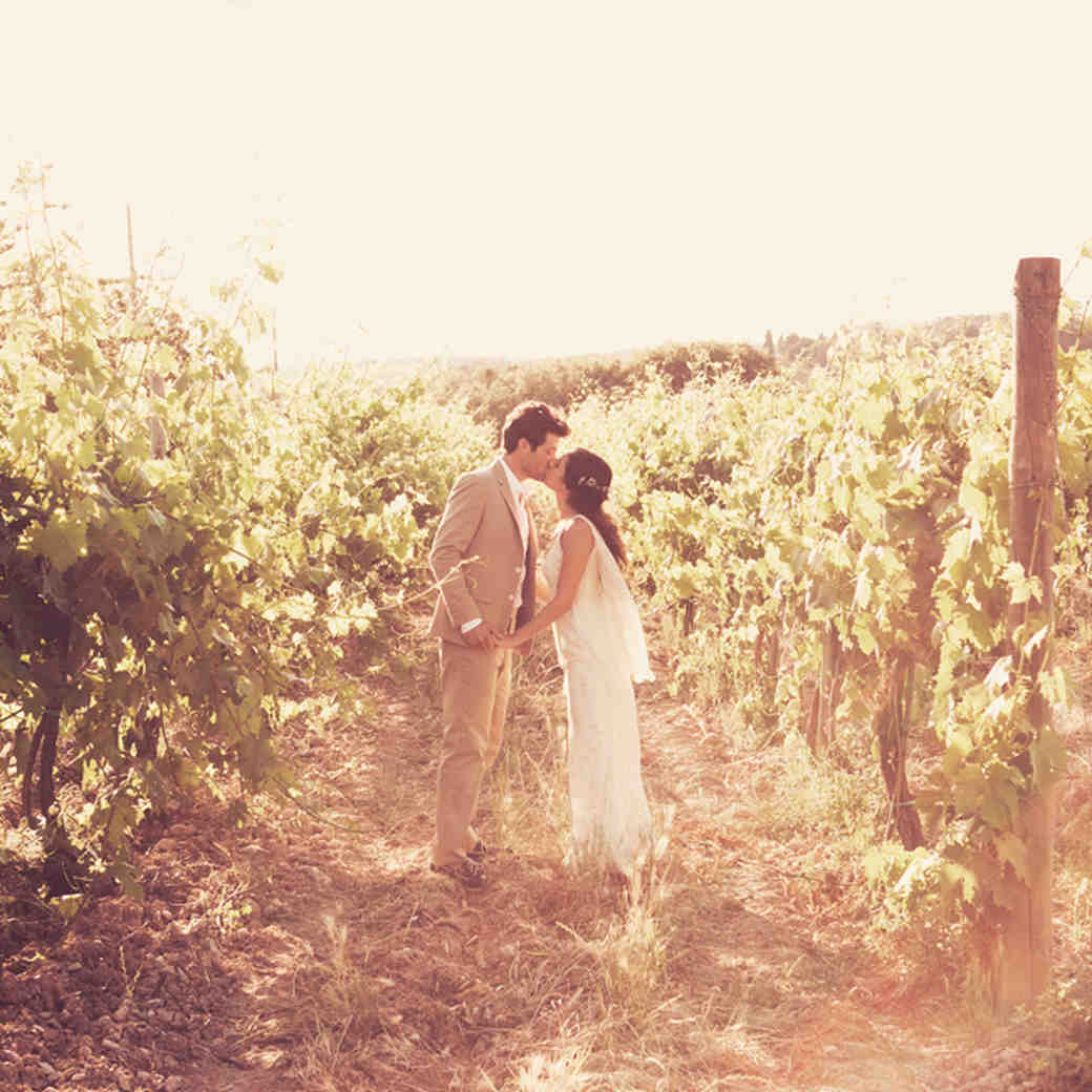 A Rustic, Vintage, and Romantic Destination Wedding in Tuscany, Italy