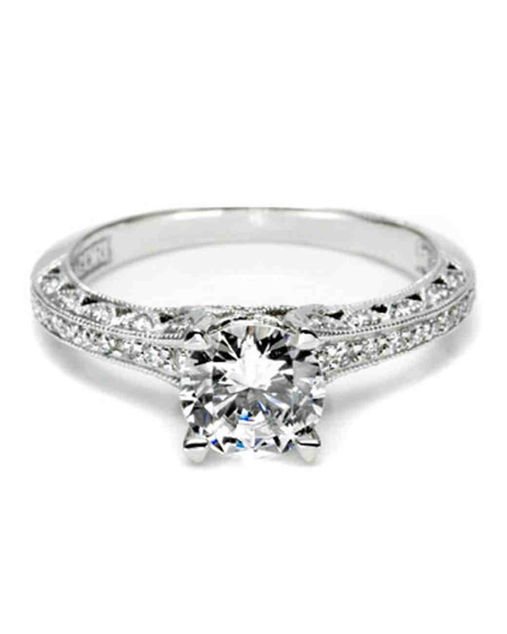 Engagement Rings Tacori: Martha Stewart Weddings