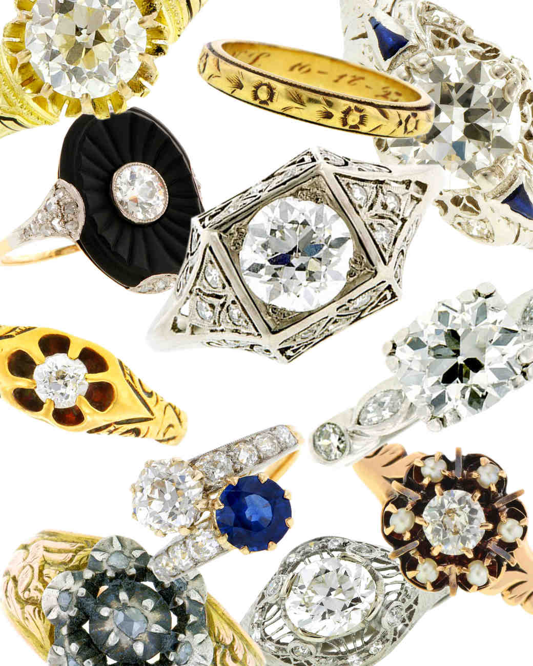 11 Tips for Finding a Vintage Engagement Ring You'll Cherish