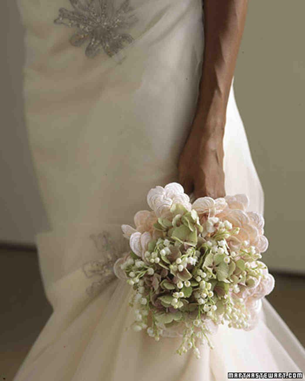Martha Stewart Weddings: Hydrangea Wedding Flower Arrangements