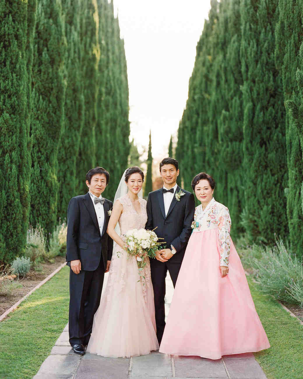 Pink Mother-of-the-Bride Dress