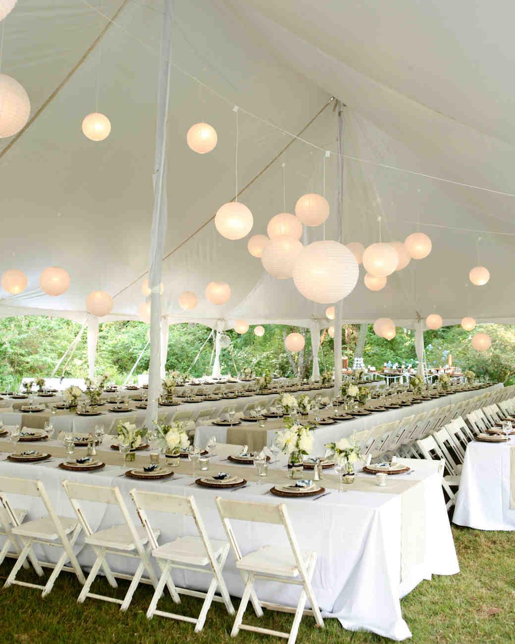 33 Tent Decorating Ideas To Upgrade Your Wedding Reception | Martha Stewart  Weddings