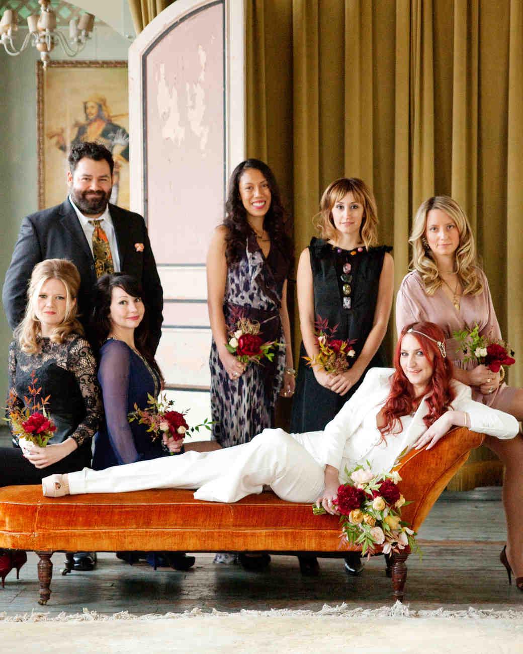 9 Nontraditional Wedding Party Ideas