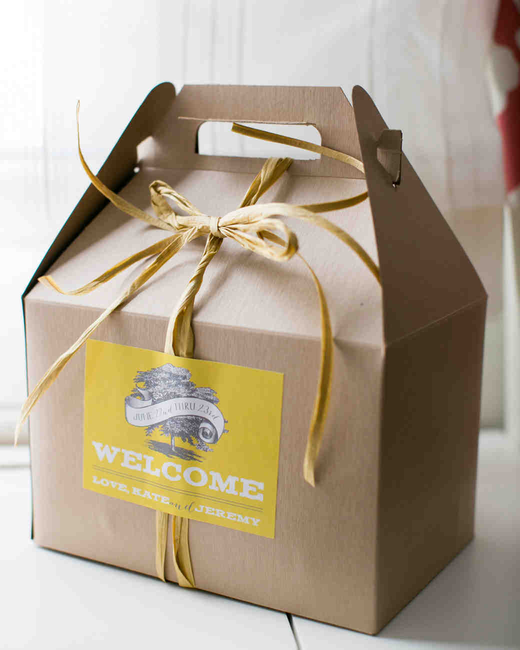 Virginia Themed Wedding Gift Bags : 80 Welcome Bags from Real Weddings Martha Stewart Weddings