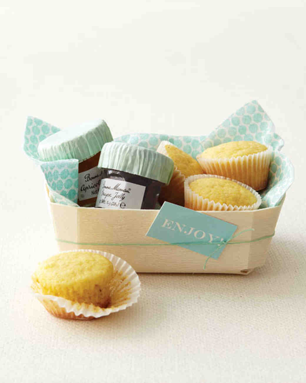 Corn Muffin Favors