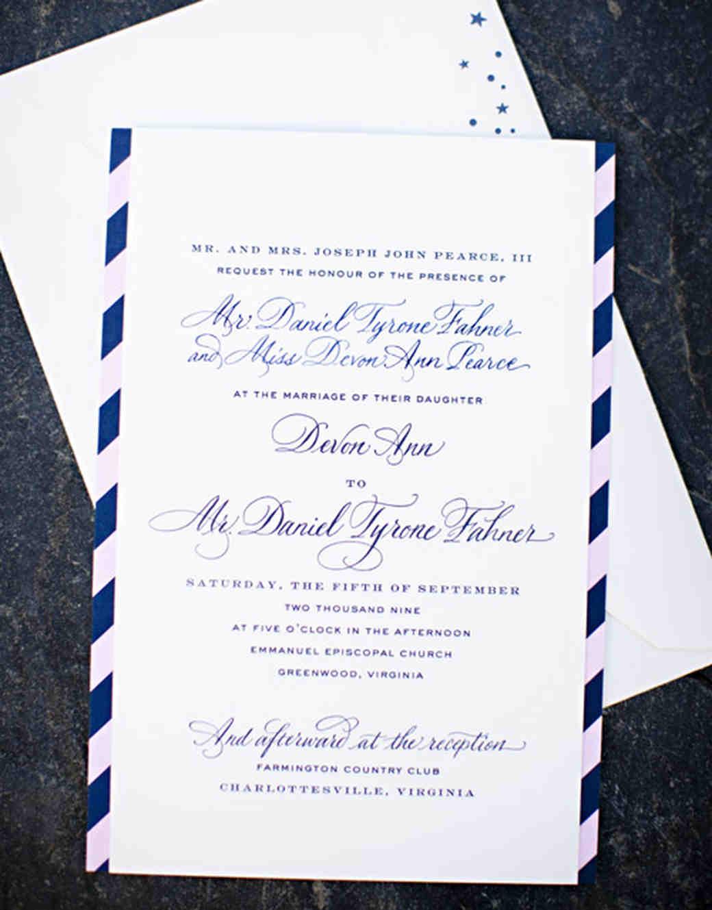 Modern Wedding Invitations | Martha Stewart Weddings