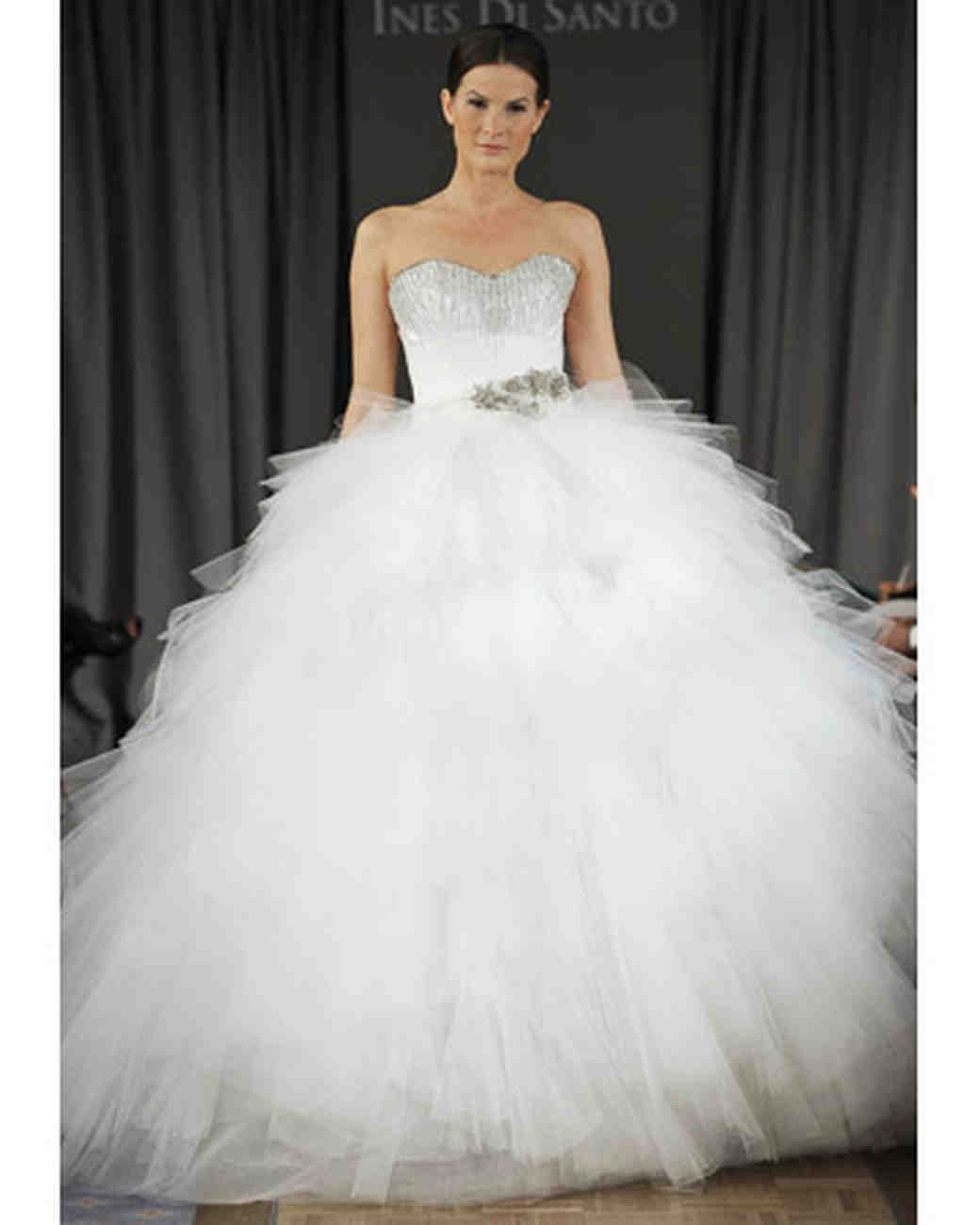 Princess Ball Gowns For Wedding: Tulle Princess Ball Gowns From Spring 2012 Bridal Fashion