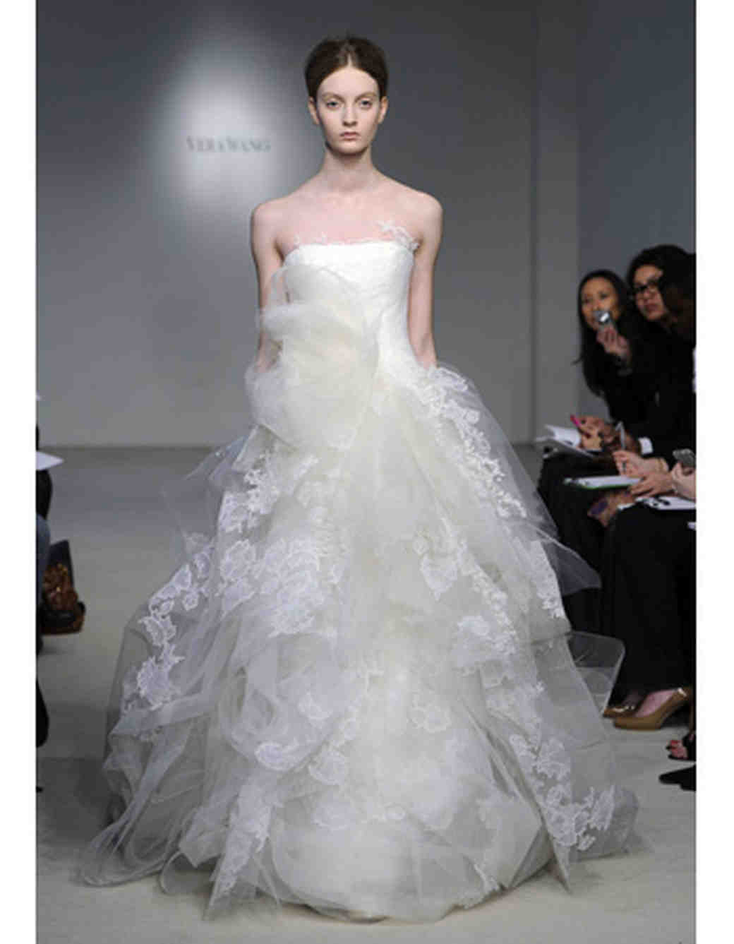 Tulle Princess Ball Gowns from Spring 2012 Bridal Fashion