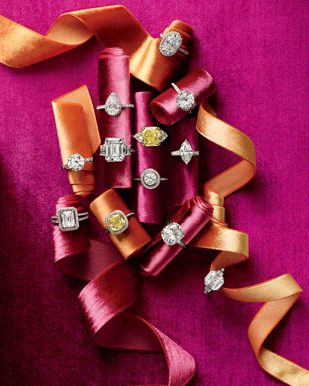 20 Years Of Wedding Wisdom: Shopping For Engagement Rings And Wedding Bands   Martha Stewart Weddings