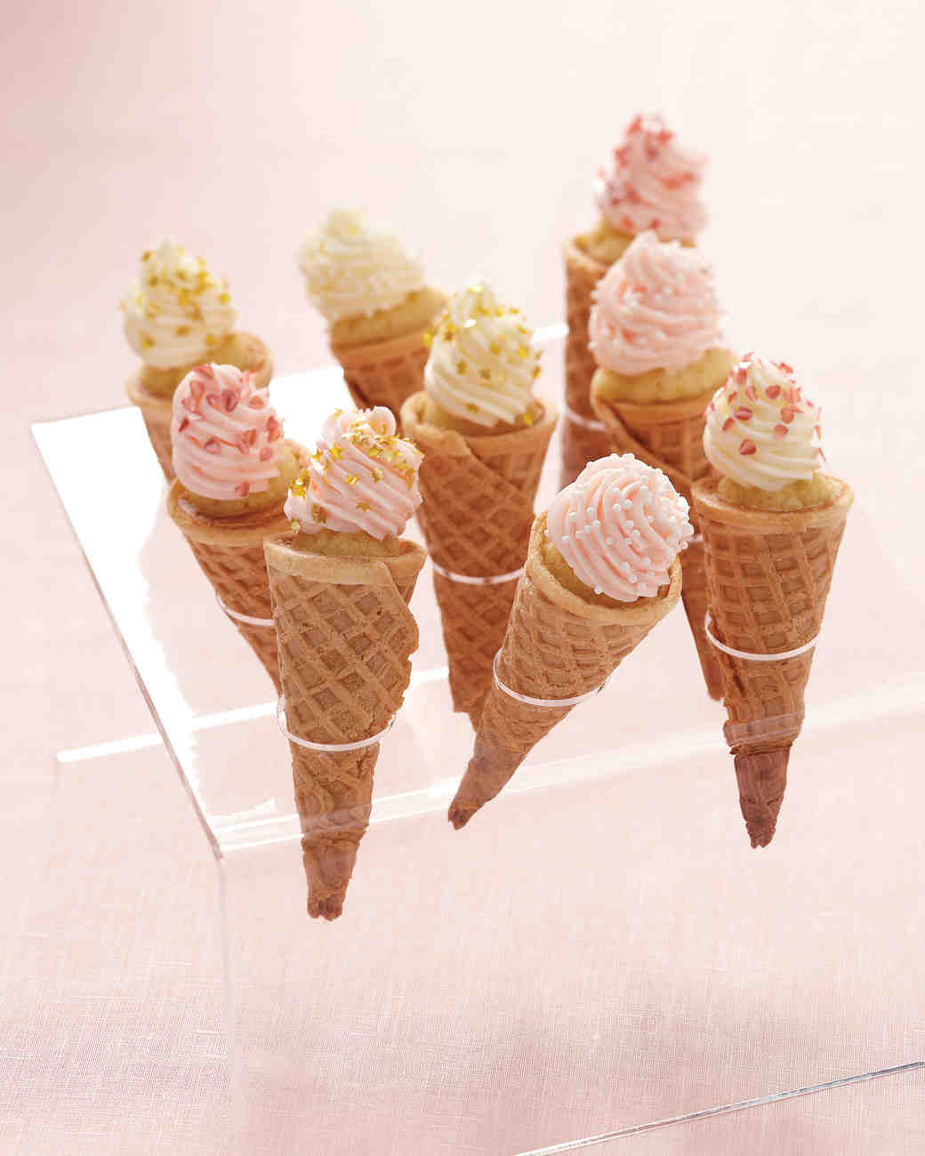 Cupcake Ice Cream Cones Recipe Martha Stewart Weddings