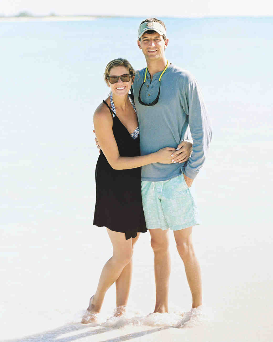 Sarah and William's Laid-Back Honeymoon in the Bahamas