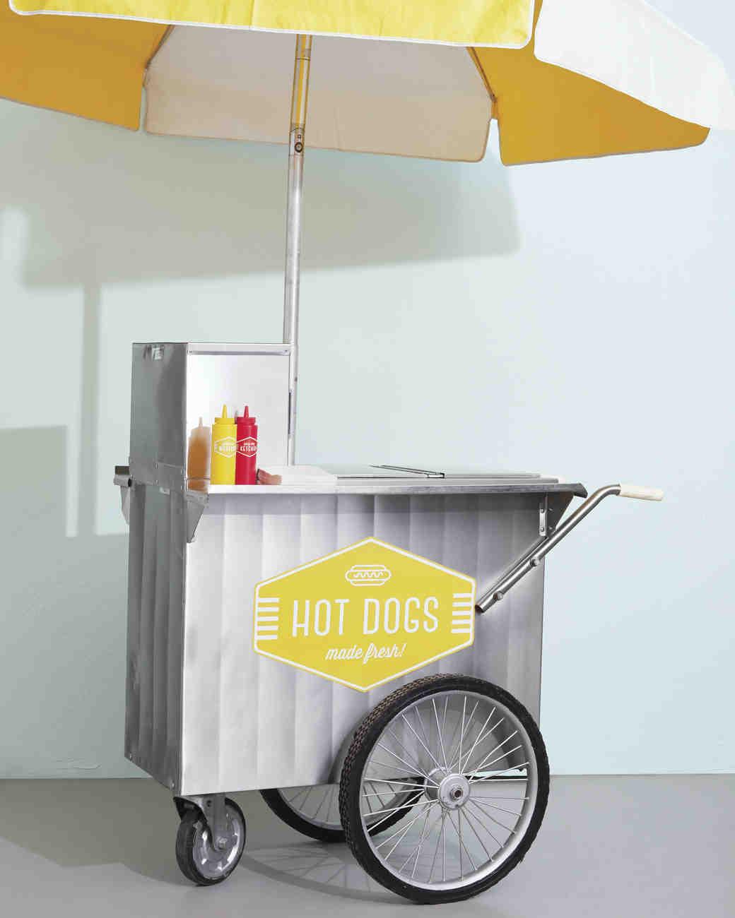 Wedding Snack Bar Ideas