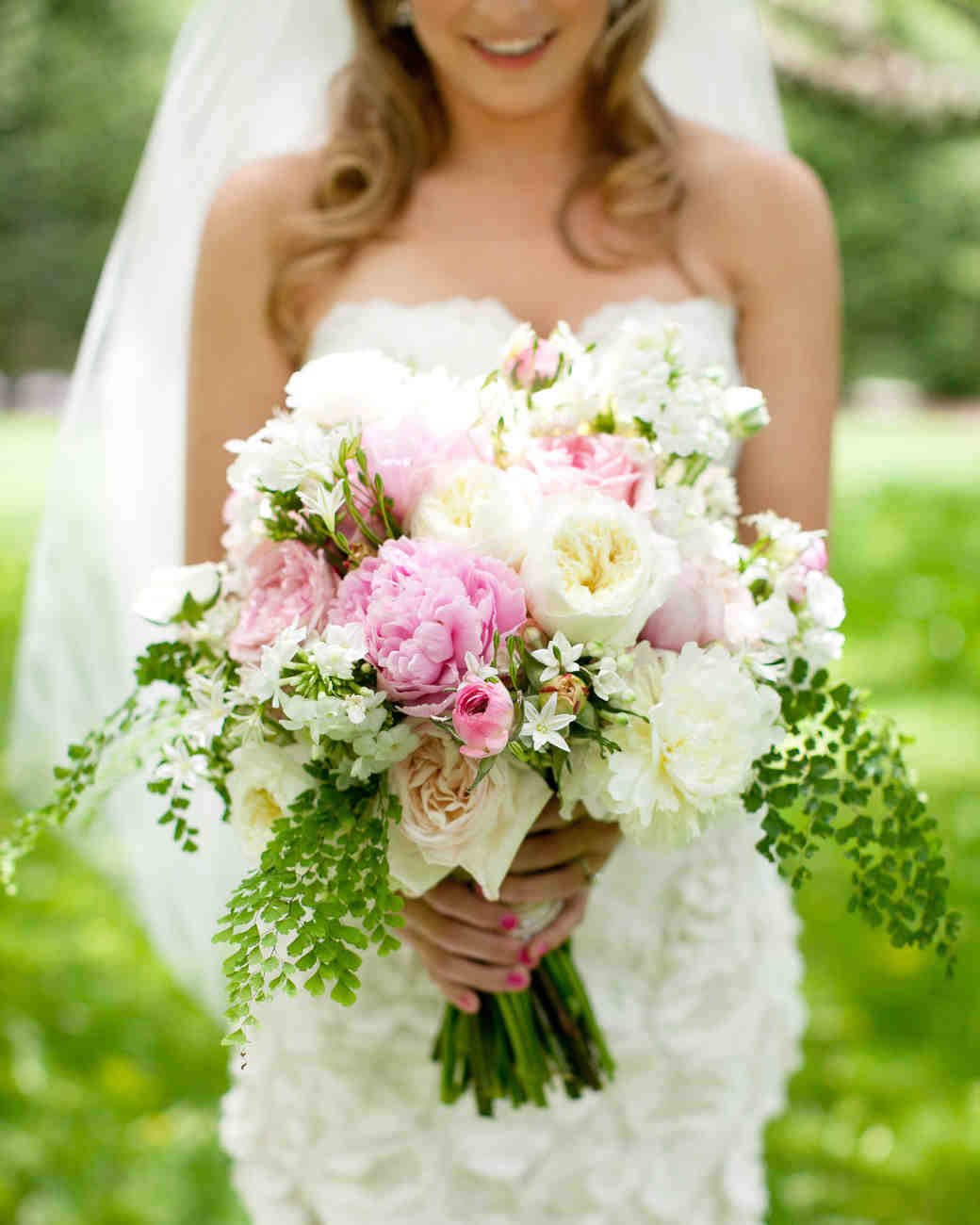 Spring Wedding Flowers Pictures: A Pink-and-White Outdoor Destination Wedding In North