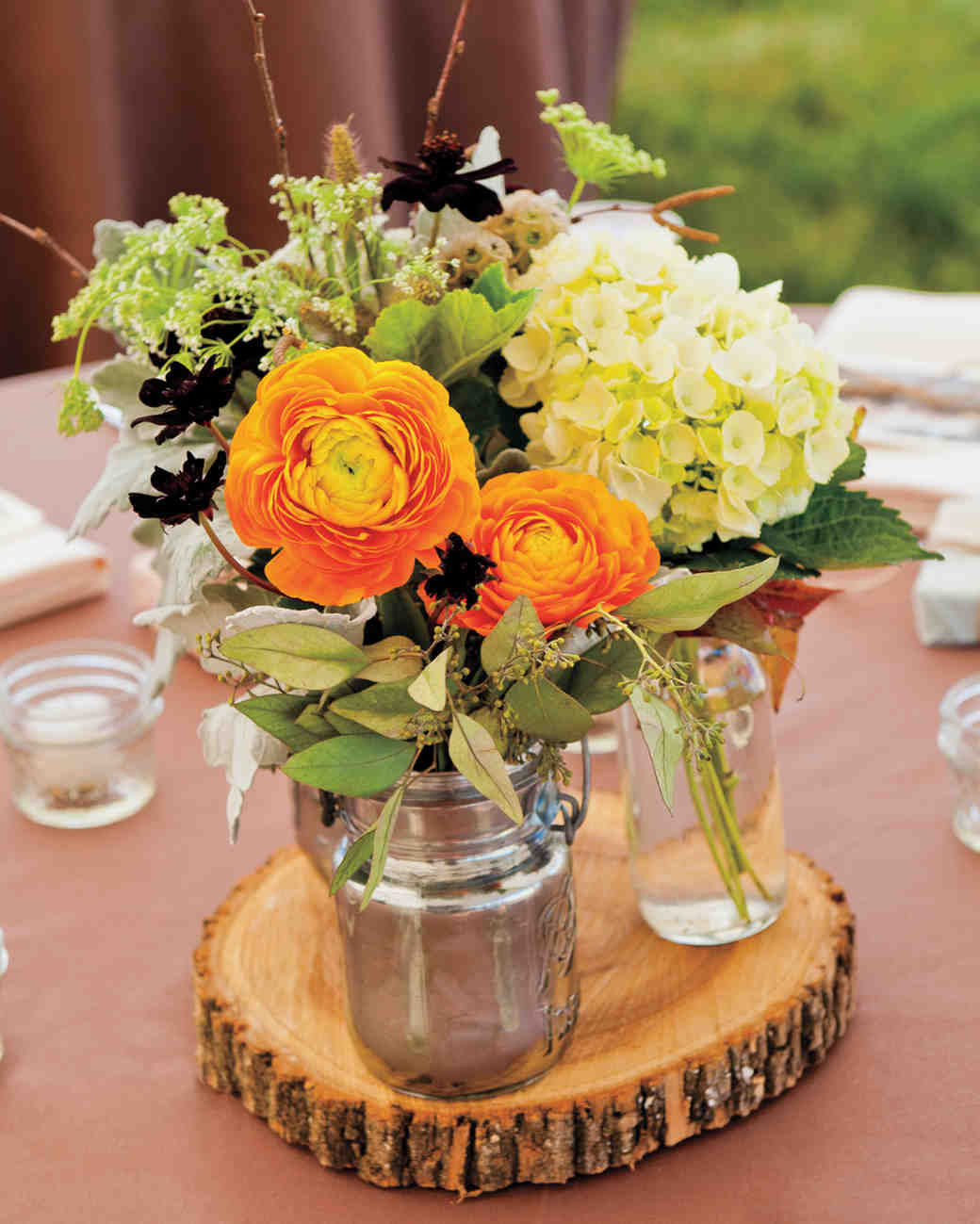 Ideas For Wedding Flower Arrangements: 51 Rustic Fall Wedding Centerpieces
