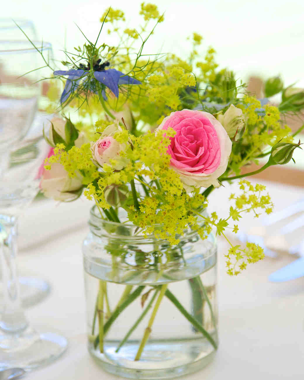 Simple wedding flower decorations pixshark