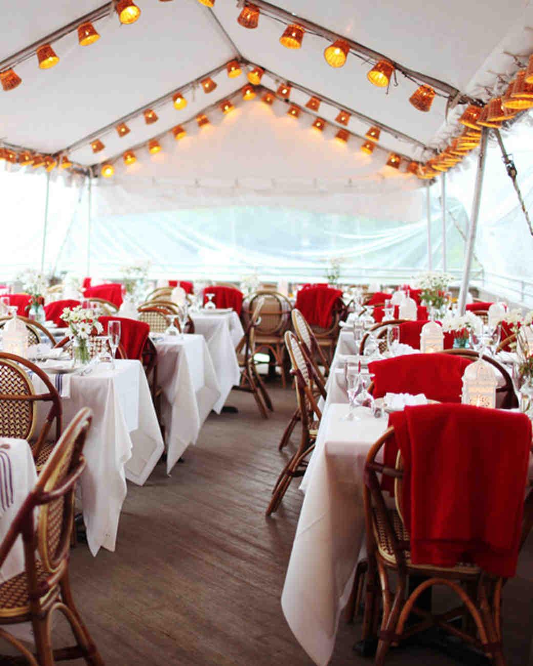 Summer Wedding Reception Ideas Martha Stewart Weddings