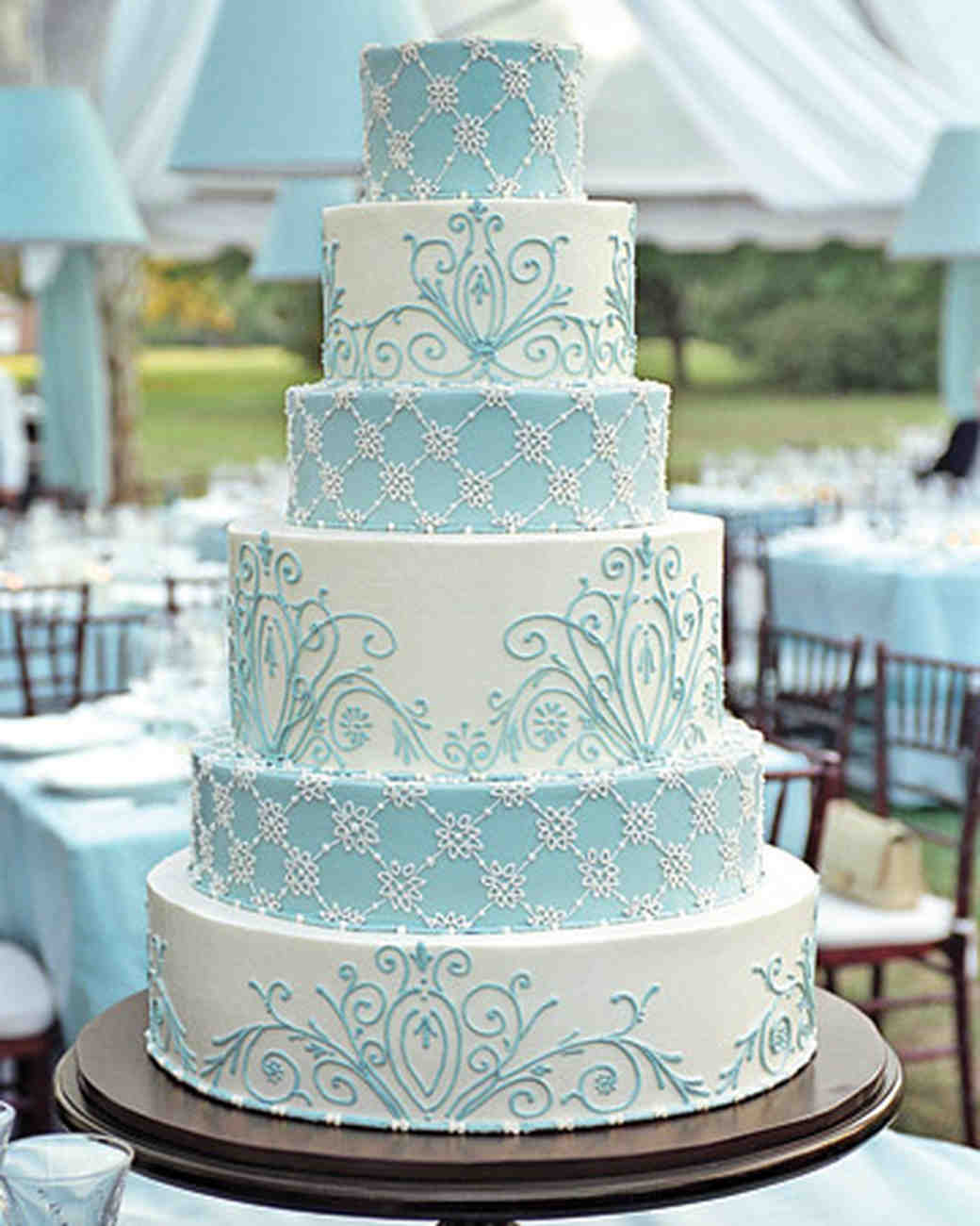 Wedding Cake Ideas Royal Blue: Blue And Purple Wedding Cakes